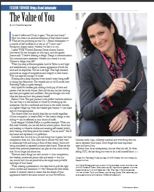 Amy Freinberg Syracuse Woman Article